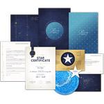 pacchetto regala stella completo